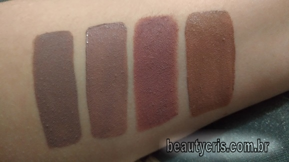 comparativos batom flesh stone mac